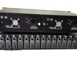 厂家供应光纤收发器机框HY-2U/14C 双电源/双风扇冗余
