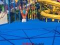 水上游乐园面层涂料施工、漂流河海浪池防滑涂料工程