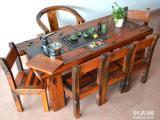 老船木家具茶台沙发博古架餐桌办公台大板台等等