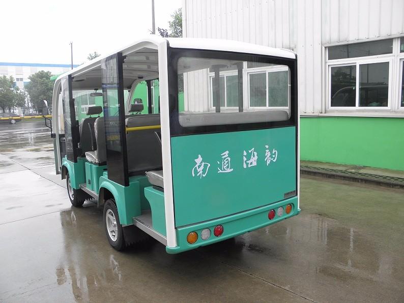 厂家供应LKSD电动观光车海豚11座开放式不带门电动游览车