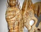 金丝楠木《释迦摩尼和观世音》