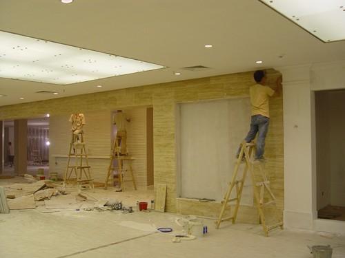 南充地区承包施工各种大小型室内外工装