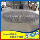 250Y不锈钢孔板波纹填料生产厂家为客户定制各种形式规整填料