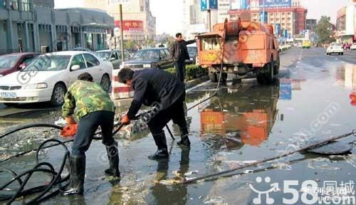 新北区汤庄化粪池清理 专车清洗工厂管道 市政管道