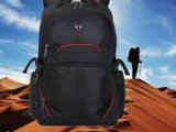 卡拉羊 2013新款 男女黑色 商务休闲双肩包 双肩电脑背包 C
