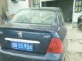 标致307三厢 2007新款 1.6 手动 舒适版 蓝