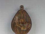 厂家直销佛教用具 小荷叶香插香炉 陶瓷
