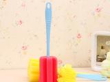 吸卡包装瓶刷 简易耐用海绵清洗杯刷 厨房清洁刷 批发 G3815