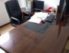 八成新办公桌电脑桌七张!!!!