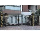 成都铝艺大门 铝艺栏杆