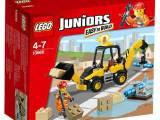 正品乐高LEGO儿童早教益智拼插积木玩具小拼砌师小型挖掘机L10