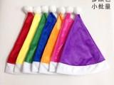 彩色圣诞帽 为你的圣诞加颜色-意真真彩色圣诞帽定做厂家