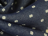 纺博厂家直销30天丝牛仔牛仔印花服装面料批发
