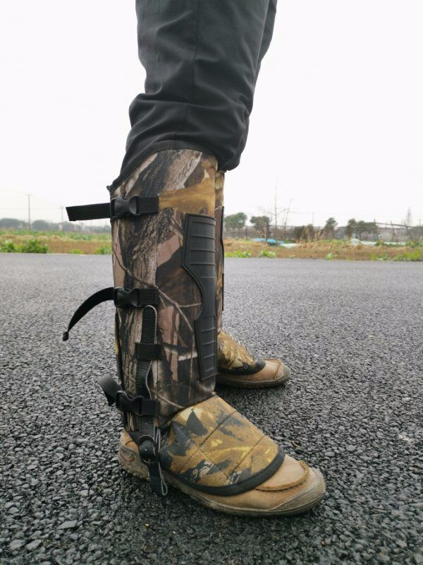 丛林探险的必备产品防蛇护腿-防蛇护套