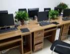 全新9.9成新电脑桌和椅子150一套