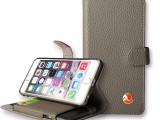 东莞苹果手机皮套iphone6带支架装充电宝手机壳厂家定制