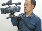 相机肩架摄像肩托 摄像机肩带托架 DV支架稳定器减震器支架F06