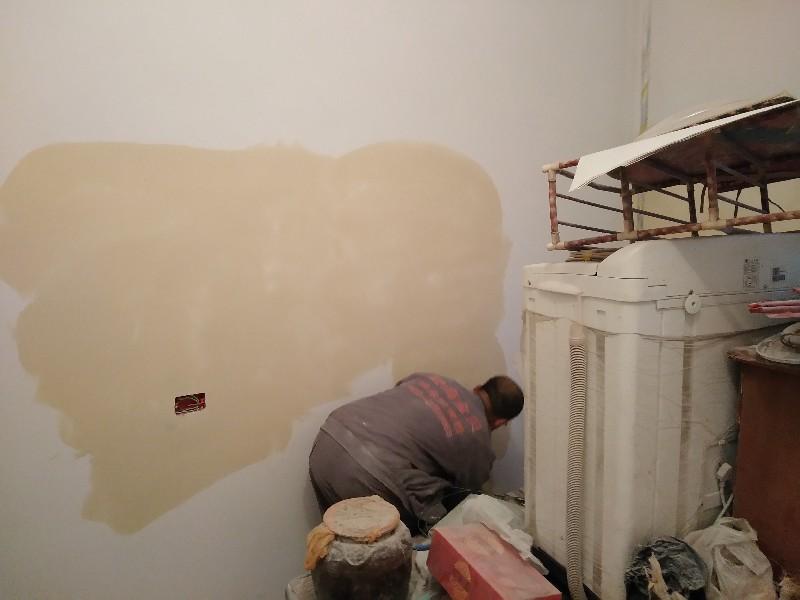 旧家翻新,当天可住,采用环保贝壳粉,无污染无异味