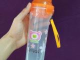 义乌地摊日用百货批发塑料杯透明太空杯塑料水杯带盖便携运动杯子