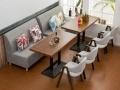 天津新款卡座沙发 爆款卡座沙发 个性餐厅卡座沙发