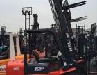 3.5吨侧翻柴油叉车 高位4.5米门架杭州叉车 上海二手叉车