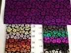 2014广州花都狮岭厂家特价热销pu皮革箱包鞋材小花朵特殊布料