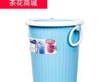 垃圾桶 卫生桶 纸篓桶 茶花塑料垃圾桶 5.7L 1219  厂