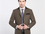 男士韩版修身西服 2015秋款新品休闲西装外套 韩版男式小西装批