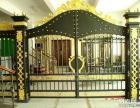 天津河北区安装铁艺大门,定做铁艺大门风格