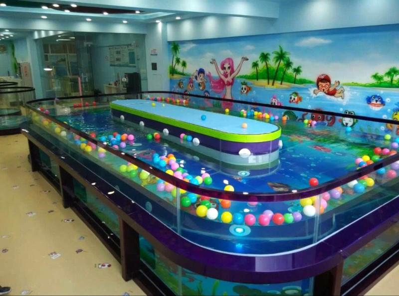福州伊贝莎豪华玻璃池(钢化玻璃)