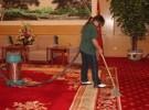 浦东外高桥保洁公司 商务楼地毯清洗 PVC地面清洗打蜡