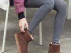 2014春季新款 韩版羊驼绒彩晶丝竖纹踩脚裤 女显瘦半脚裤义乌厂家