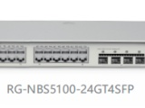 銳捷24口三層交換機RG-NBS5100-24GT4SFP
