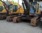 眉山直销,二手挖机沃尔沃210B土方大件质保进口精品