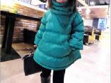 中大女童装 欧货款 超美正色套头棉服 保暖外套