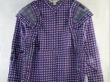 2014爆款 地叔叔新款紫罗兰格子套装 时尚休闲套装