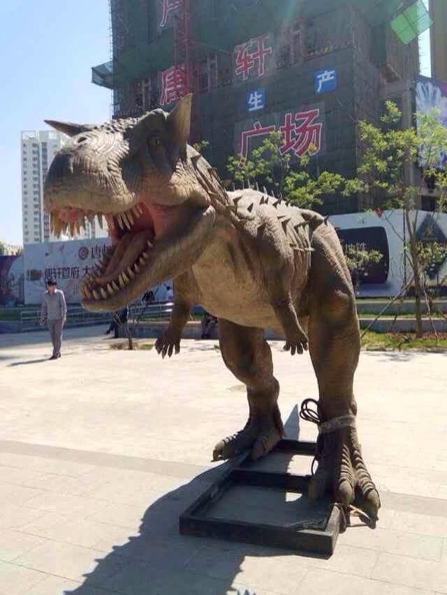 大型仿真恐龙展生产厂家各种尺寸现货超低价出租出售展览