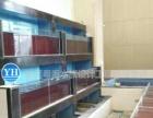 制作酒店酒楼餐厅超市海鲜池玻璃鱼缸专业快速优惠