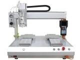 浙江瑞德鑫自动涂胶机5331双工位平台点胶设备