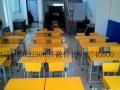 天津新款小学生课桌培训班辅导书桌