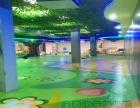 厂家供应儿童乐园图案定制地胶