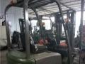 合力 1-1.8吨 叉车         (二手电动叉车带推拉器