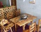 厂家直销火焰鹅餐厅桌椅,醉鹅餐厅桌椅,农庄桌椅,户外实木餐
