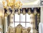 窗帘布艺软装设计 窗帘飘窗垫实景案例