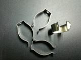 供应T8灯管U型卡扣,灯管固定卡扣,金属卡夹,金属挂钩 灯具卡扣