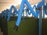 高伸缩钢丝管耐高温尼龙布风管工业焊接烟尘排烟管