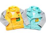 冬季新款韩国太空棉童装外套 男童女童拉链开衫外套  儿童外套