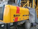 台州路桥60.80.90高压地泵,拖泵混凝土输送泵车出租出售