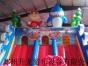 2017新款大型充气城堡 充气玩具 儿童蹦床 猪猪侠