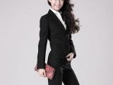 2015新款女式正装西服 修身两粒扣女西装 定制 职业套装 时尚
